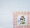 1671 Minnie Maus Baby Serviette