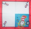 1695 The Cat in the Hat Katzen Serviette