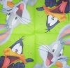 1716 Looney Tunes Bugs Bunny Duffy Duck Serviette