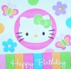 2198 Hello Kitty Birthday Serviette