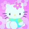 2212 Hello Kitty Serviette