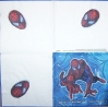 2307 Spiderman Serviette