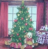 2561 Teddy Christmas Serviette