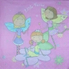 2604 Little Fairies Blumenkinder Serviette