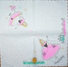 2672 Princess Birthday Serviette