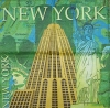 2718 New York Serviette
