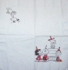 2849 Snoopy Serviette