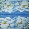 2859 Winterlandschaft Serviette