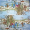 3181 Winter Nostalgie Serviette