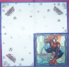 3262 Spiderman Serviette