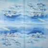 3635 Winterlandschaft Serviette