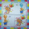 3703 Teddy Birthday Serviette