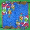 3778 Grinch Serviette