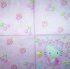 3919 Hello Kitty Serviette