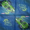 4077 Hot Wheels Serviette