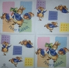 4599 Peter Rabbit Serviette