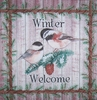 4670 Welcome Winter Serviette