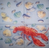 4851 Lobster Serviette