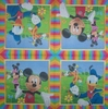 4974 Donald Mickey Minnie Serviette