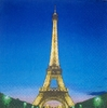 5022 Paris Eifelturm Serviette