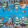 5489 Winterlandschaft Serviette