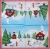 5634 Winterlandschaft Serviette