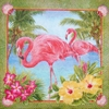 5745 Flamingo Serviette