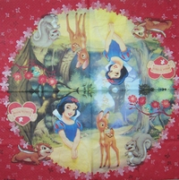 5814 Snow White Serviette