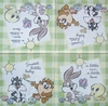 6024 Looney Tunes Baby Serviette