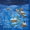 6311 Winterlandschaft Serviette