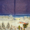 6430 Winterlandschaft Serviette