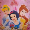 6490 Disney Princess Serviette