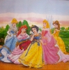 6585 Disney Princess Serviette