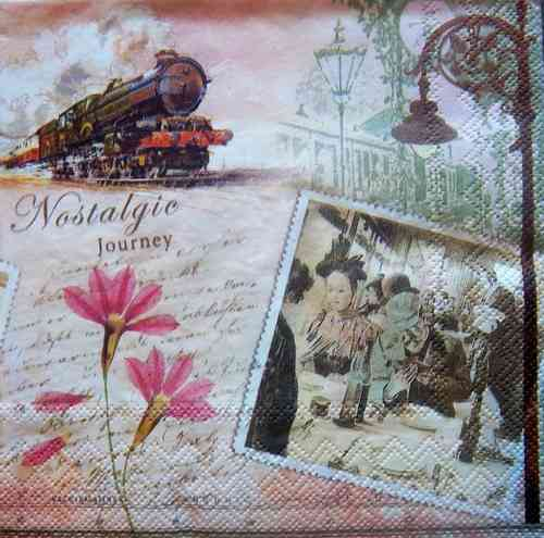 7206 Nostalgic Journey Serviette