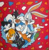 8214 Looney Tunes Serviette