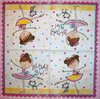 8164 Ballerina Birthday Serviette