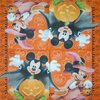 10197 Mickey Maus Halloween Serviette
