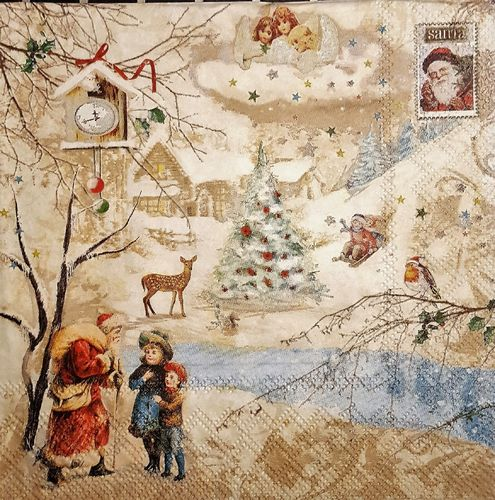 11483 Winter Wonderland Serviette
