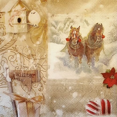 11513 Christmas Season Serviette