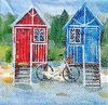 11835 Beach cottage Serviette