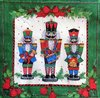 12024 Christmas Nutcrackers Serviette
