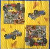 12188 Mickey Roadster Serviette