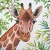 12432 Tropical Giraffe Serviette