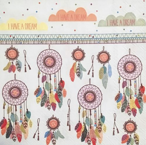 12447 Dreamcatcher Serviette
