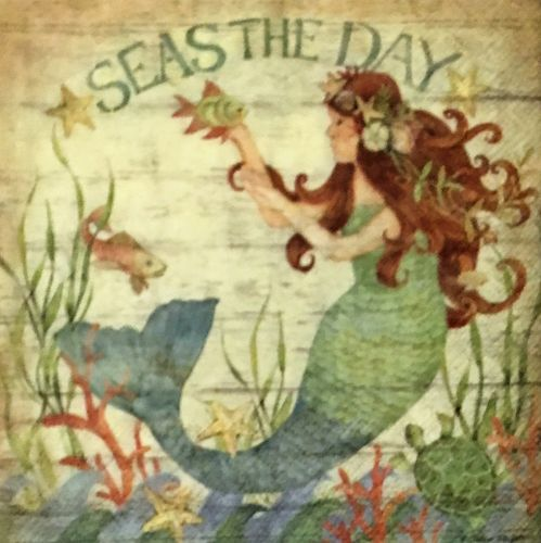 12461 Seas the Day Serviette