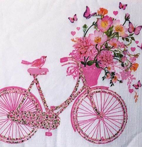 12472 Happy Bike Serviette