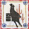 12569 Rodeo Girl Western Lasso Serviette