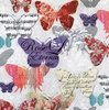 12657 Romantic Butterflies Serviette